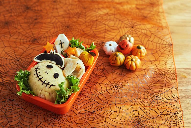 子どもが喜ぶ! ハロウィンのお弁当簡単アレンジレシピ【おばけハンバーグ編】