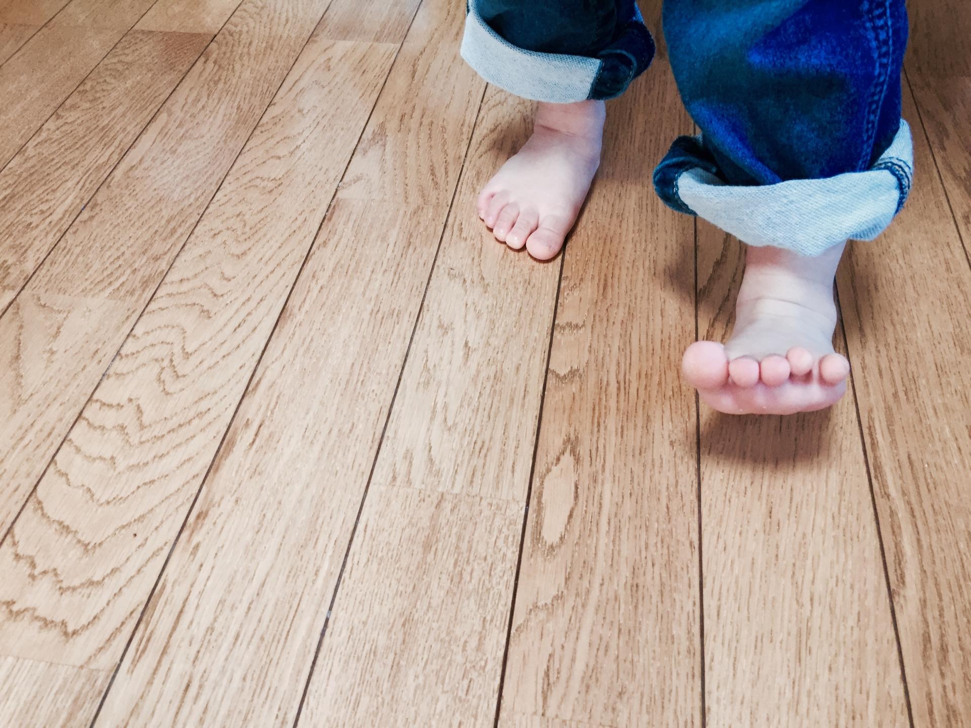 5本の足指歩行
