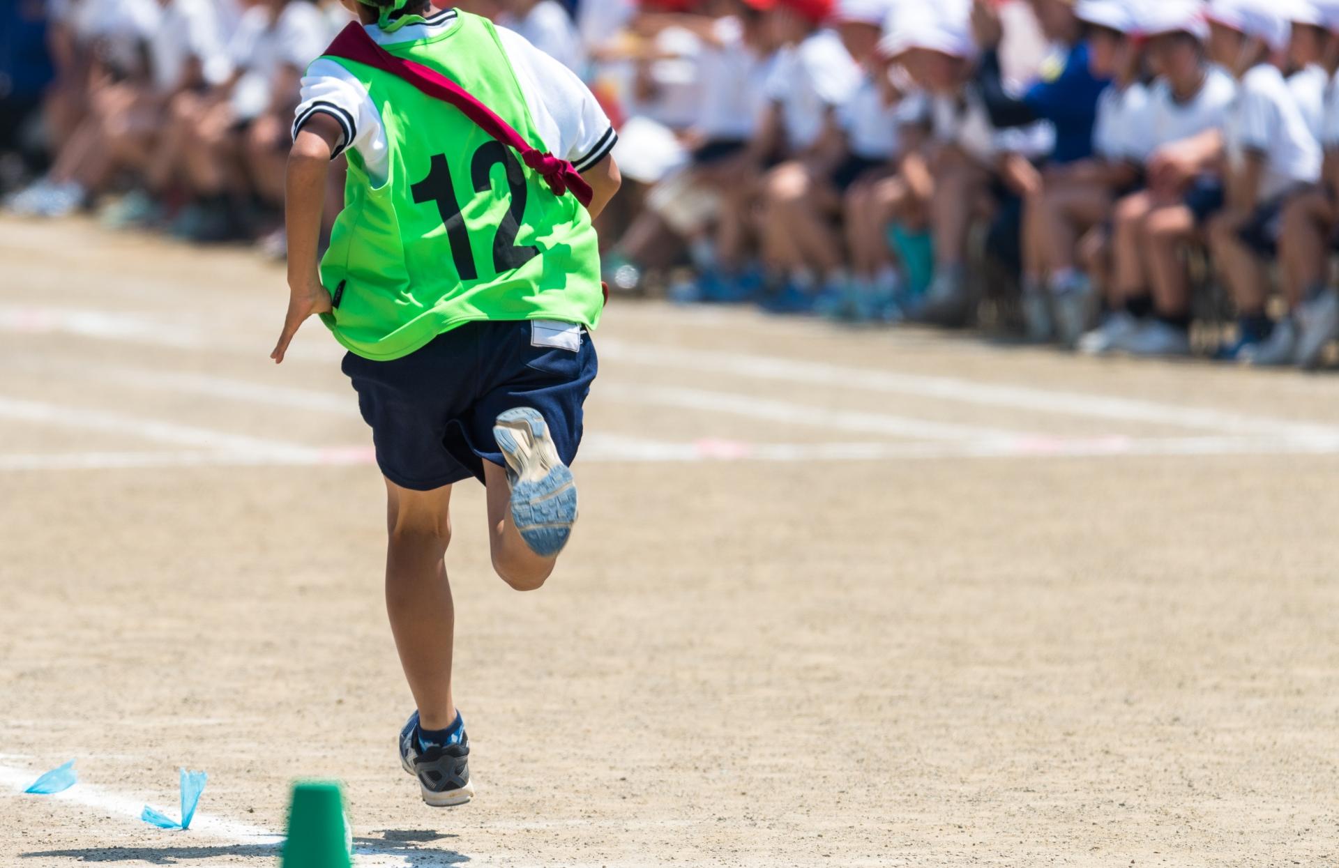子どもの足裏の筋肉の成長
