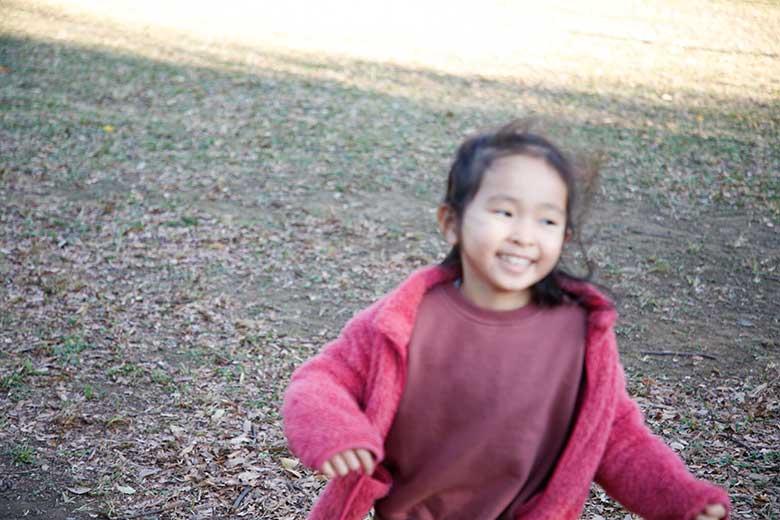 子どもをかわいく写す、写真の撮り方公園編9