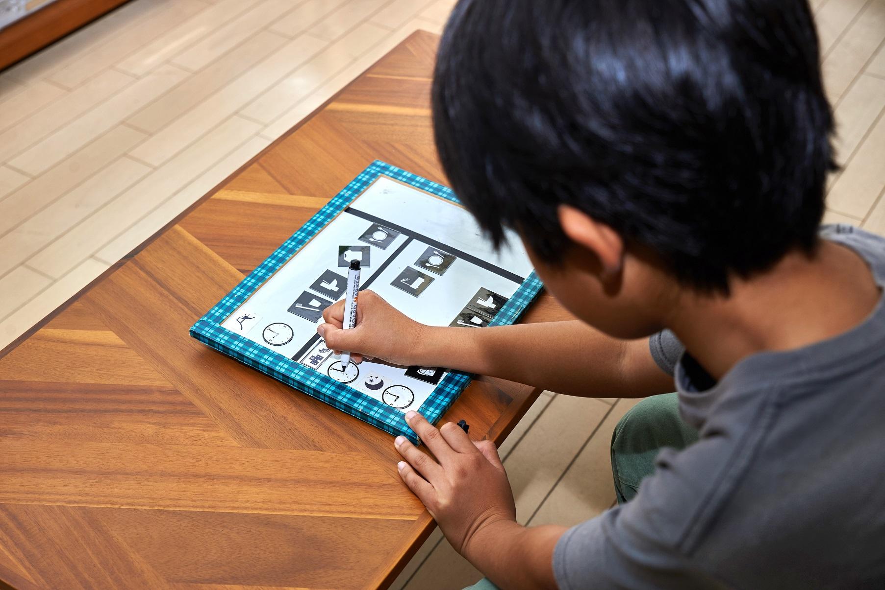 ライフオーガナイザー中村佳子さんに教わる時間管理ができる子どもに!情報を見える化して片づける方法