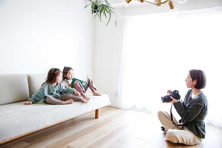 子どもをかわいく写す写真の撮り方&撮影 5つのコツ【室内編】